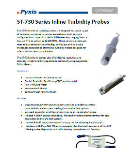 ST-730 series inline turbidity probes