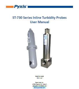 ST-730 series inline turbidity probes user manual
