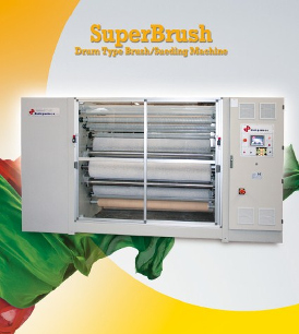 Superbrush - Drum Type Sueding Machine