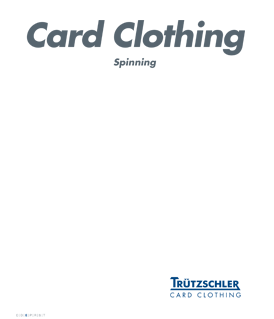 Trutzschler Card Clothing T-Winder