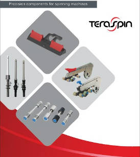 TeraSpin precision components for spinning machines