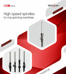 High speed spindles for ring spinning machines