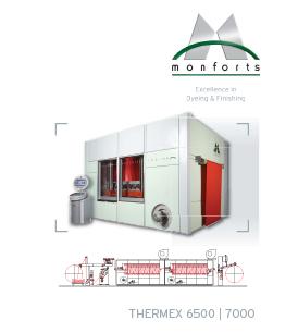 Monforts Continuous Dyeing Range (Model E-control)