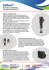 Valflow® Centrifugal Pumps