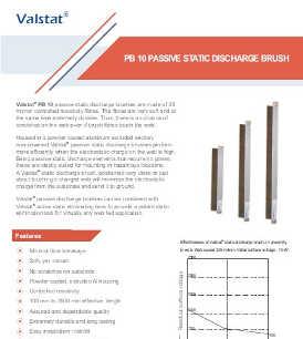 Valence Valstat PB 10 passive static discharge brush