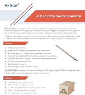 Valence Valstat VS 20 active AC static eliminator