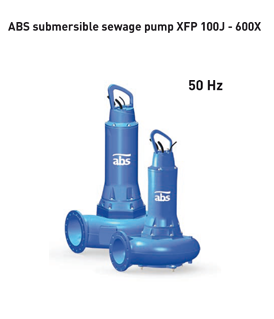 Sulzer (ABS) XFP 100J - 600X submersible sewage pump