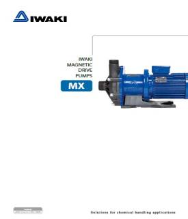 Iwaki MX series magnetic drive pumps