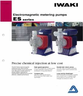 Iwaki - ES Series Electromagnetic Metering Pumps