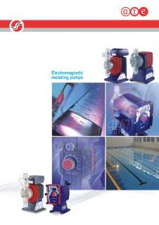 Iwaki elctromagnetic metering pumps - E series