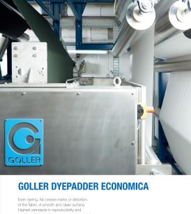 Goller ECONOMICA cold pad batch range
