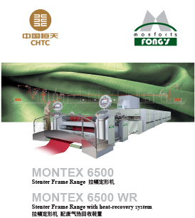 Monforts Stenter Model 6500c