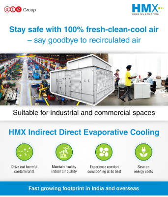 Stay safe with 100% fresh-clean-cool air