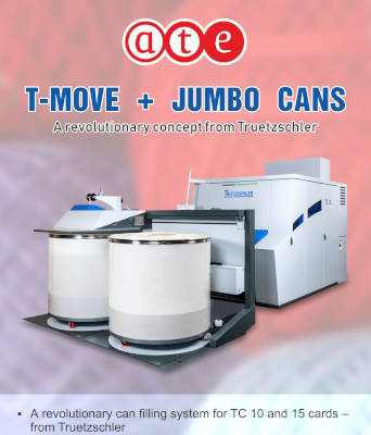 T-MOVE + JUMBO CANS - A revolutionary concept from Truetzschler
