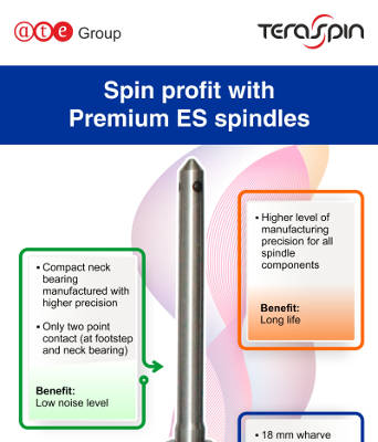 Spin profit with Premium ES spindles