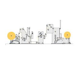 Support Roller Slitter Rewinder BWT 206-01