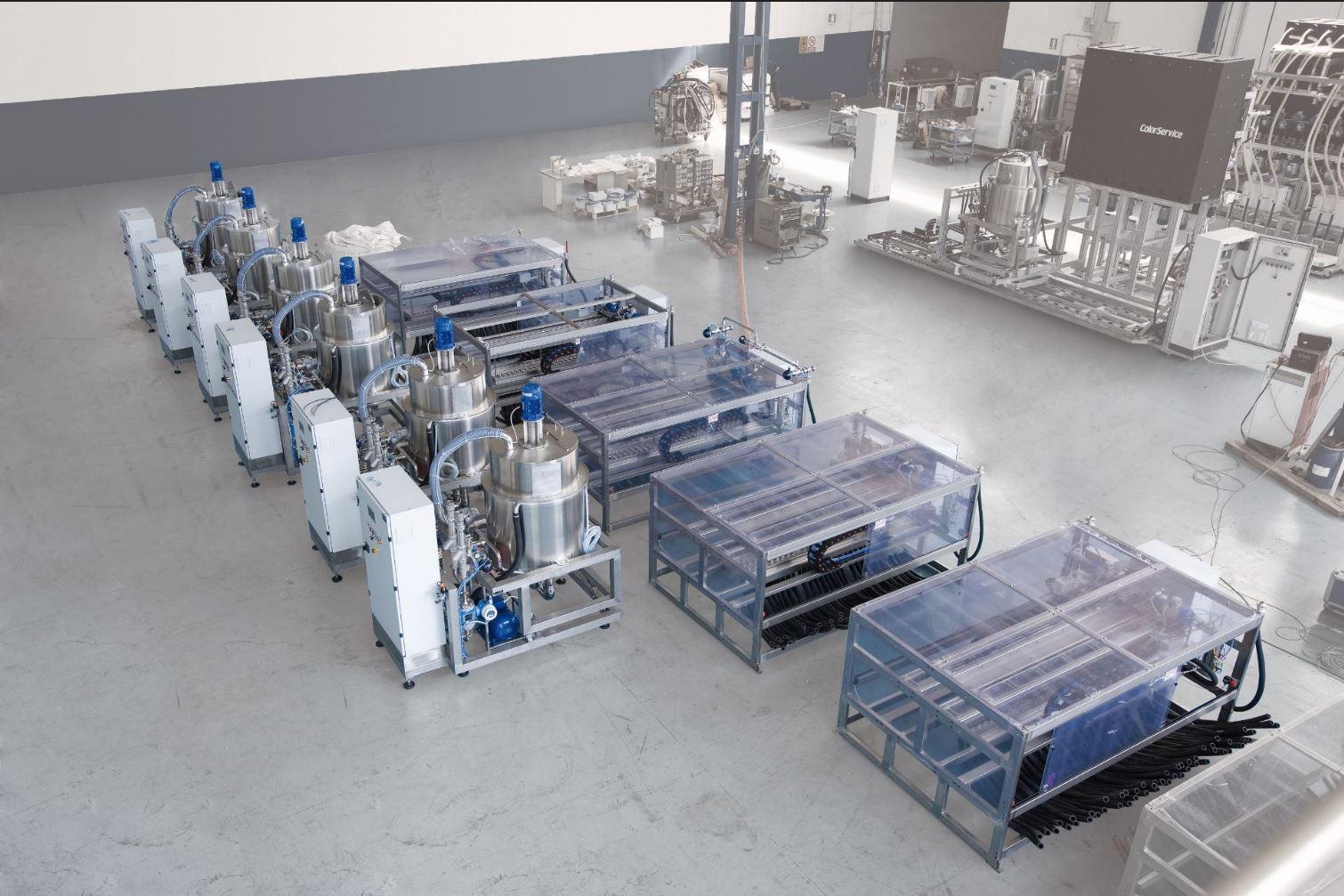 Dye dispensing systems