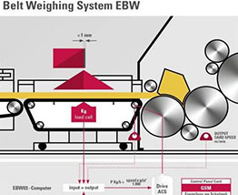 Belt Weighing System EBW