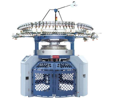 JH DJ computerised Jacquard double jersey machine
