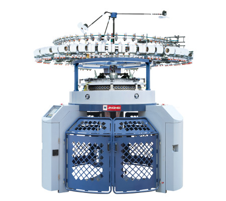 JLC SJ computerised Jacquard mesh single jersey machine