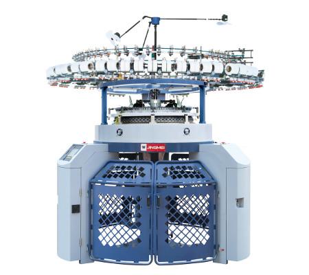 JLC SJ computerised Jacquard mesh single jersey machine