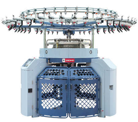 JLCD SJ computerised Jacquard terry single jersey machine