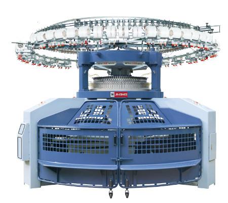 JT Open DJ double jersey open width machine