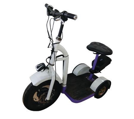 Spinning patrol bike