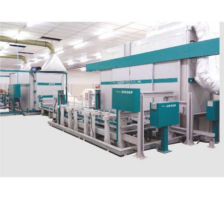 Yarn Conditioning Plant with Pre-conditioning
