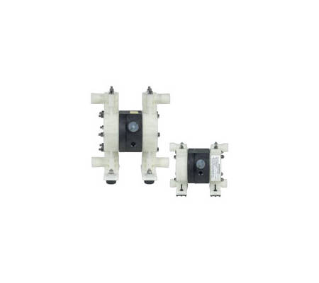 Split manifold pumps