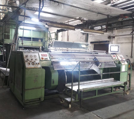 Automation of fabric forming machines