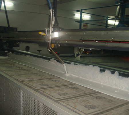 Carpet Back Coating Line