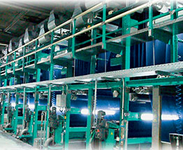 PRODYE Slasher Indigo Dyeing Machine