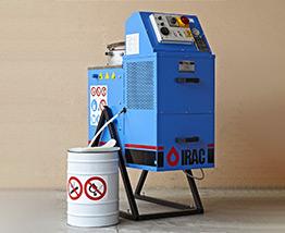 IRAC Solvent Distillation