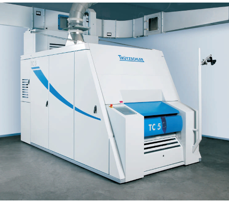 Blow room and carding machinery