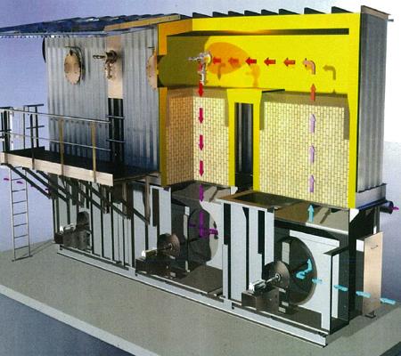 Ecopure RTO Regenerative Thermal Oxidiser