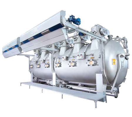 TEC Series High Temperature dyeing machines