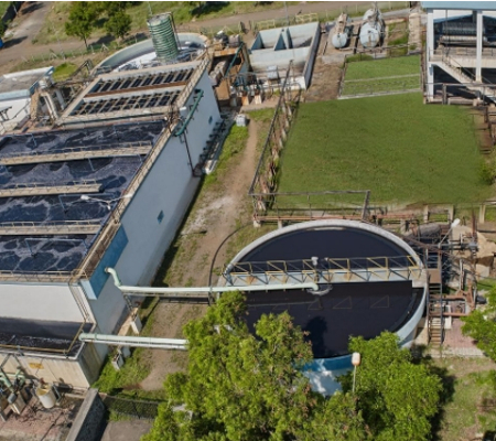 Wastewater Treatment System for Textile