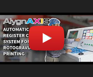 AlygnAXIS - automatic register control system for rotogravure printing machines