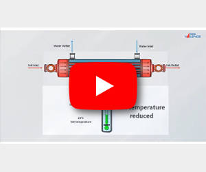 Install Valflow® ITS to reduce ink temperature