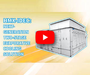 HMX-Ambiator: next-generation two-stage evaporative cooling solution