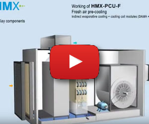 HMX-PCU-F: fresh air pre-cooling
